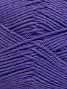 Fiber Content 100% Mercerised Cotton, Purple, Brand Ice Yarns, Yarn Thickness 2 Fine  Sport, Baby, fnt2-43398
