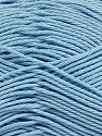 Fiber Content 100% Mercerised Cotton, Light Blue, Brand Ice Yarns, Yarn Thickness 2 Fine  Sport, Baby, fnt2-43399