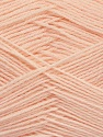 Machine washable. Lay flat to dry Fiber Content 70% Superwash Virgin Wool, 30% Acrylic, Light Salmon, Brand Ice Yarns, Yarn Thickness 2 Fine  Sport, Baby, fnt2-43456