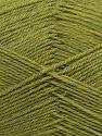 Machine washable. Lay flat to dry Fiber Content 70% Superwash Virgin Wool, 30% Acrylic, Brand Ice Yarns, Green Melange, Yarn Thickness 2 Fine  Sport, Baby, fnt2-43462