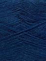 Machine washable. Lay flat to dry Fiber Content 70% Superwash Virgin Wool, 30% Acrylic, Brand Ice Yarns, Blue Melange, Yarn Thickness 2 Fine  Sport, Baby, fnt2-43463