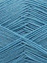 Machine washable. Lay flat to dry Fiber Content 70% Superwash Virgin Wool, 30% Acrylic, Light Blue Melange, Brand Ice Yarns, Yarn Thickness 2 Fine  Sport, Baby, fnt2-43464