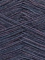 Machine washable. Lay flat to dry Fiber Content 70% Superwash Virgin Wool, 30% Acrylic, Lilac Melange, Brand Ice Yarns, Yarn Thickness 2 Fine  Sport, Baby, fnt2-43466