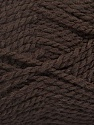Fiber Content 60% Virgin Wool, 40% Acrylic, Brand Ice Yarns, Dark Brown, Yarn Thickness 2 Fine  Sport, Baby, fnt2-43530