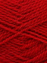 Fiber Content 60% Virgin Wool, 40% Acrylic, Red, Brand Ice Yarns, Yarn Thickness 2 Fine  Sport, Baby, fnt2-43537