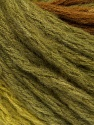 Fiber Content 70% Acrylic, 20% Wool, 10% Mohair, Brand Ice Yarns, Green Shades, Brown, Yarn Thickness 6 SuperBulky  Bulky, Roving, fnt2-43550