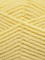 Fiber Content 60% Virgin Wool, 40% Acrylic, Brand Ice Yarns, Baby Yellow, Yarn Thickness 5 Bulky  Chunky, Craft, Rug, fnt2-43575