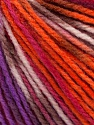 Fiber Content 100% Acrylic, White, Pink, Orange, Maroon, Lilac, Brand Ice Yarns, Yarn Thickness 2 Fine  Sport, Baby, fnt2-43617