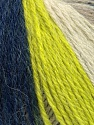 Fiber Content 100% Merino Wool, Neon Green, Navy, Brand Ice Yarns, Cream, Beige, fnt2-43621
