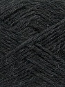Fiber Content 78% Acrylic, 22% Wool, Brand Ice Yarns, Anthracite Black, Yarn Thickness 4 Medium  Worsted, Afghan, Aran, fnt2-43641