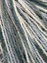 Fiber Content 100% Acrylic, White, Brand Ice Yarns, Grey Shades, Yarn Thickness 2 Fine  Sport, Baby, fnt2-43696