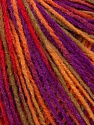 Fiber Content 100% Acrylic, Red, Purple, Orange, Khaki, Brand Ice Yarns, Yarn Thickness 2 Fine  Sport, Baby, fnt2-43702