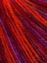 Fiber Content 100% Acrylic, Purple, Orange, Brand Ice Yarns, Burgundy, Yarn Thickness 2 Fine  Sport, Baby, fnt2-43703