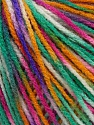 Fiber Content 100% Acrylic, Yellow, White, Pink, Mint Green, Brand Ice Yarns, Blue, Yarn Thickness 2 Fine  Sport, Baby, fnt2-43709