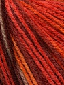 Fiber Content 100% Acrylic, Salmon, Orange, Maroon, Brand Ice Yarns, Brown, Yarn Thickness 2 Fine  Sport, Baby, fnt2-43712