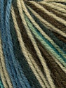 Fiber Content 100% Acrylic, White, Brand Ice Yarns, Dark Grey, Brown, Blue, Yarn Thickness 2 Fine  Sport, Baby, fnt2-43715