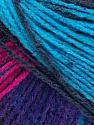 Fiber Content 100% Acrylic, Turquoise, Purple, Brand Ice Yarns, Fuchsia, Dark Grey, Yarn Thickness 2 Fine  Sport, Baby, fnt2-43720