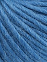 Fiber Content 50% Virgin Wool, 40% Alpaca, 10% Acrylic, Light Indigo Blue, Brand Ice Yarns, Yarn Thickness 5 Bulky  Chunky, Craft, Rug, fnt2-43732