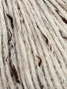 Tweed  Fiber Content 50% Acrylic, 40% Wool, 10% Viscose, Brand Ice Yarns, Cream, fnt2-43744