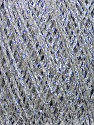 Fiber Content 100% Metallic Lurex, Silver, Brand Ice Yarns, fnt2-43747