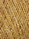 Fiber Content 100% Metallic Lurex, Brand Ice Yarns, Gold, fnt2-43748