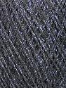 Fiber Content 70% Viscose, 30% Metallic Lurex, Silver, Brand Ice Yarns, Grey, fnt2-43754