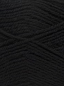 Machine washable. Lay flat to dry Fiber Content 60% Superwash Virgin Wool, 40% Acrylic, Brand Ice Yarns, Black, fnt2-43781