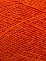 Machine washable. Lay flat to dry Fiber Content 60% Superwash Virgin Wool, 40% Acrylic, Orange, Brand Ice Yarns, fnt2-43792