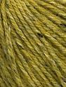 Tweed  Fiber Content 50% Virgin Wool, 25% Viscose, 25% Alpaca, Brand Ice Yarns, Green, fnt2-43819