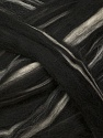 Fiber Content 100% Wool, Brand Ice Yarns, Cream, Black, fnt2-43830