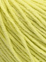 Fiber Content 50% Acrylic, 50% Cotton, Lemon Yellow, Brand Ice Yarns, fnt2-43836