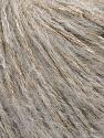 Fiber Content 40% Polyamide, 31% Acrylic, 29% Mohair, Light Grey, Brand Ice Yarns, fnt2-43924
