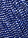 Fiber Content 52% Metallic Lurex, 48% Polyester, Silver, Brand Ice Yarns, Blue, fnt2-44799