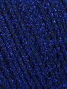 Fiber Content 52% Metallic Lurex, 48% Polyester, Brand Ice Yarns, Blue, fnt2-44803