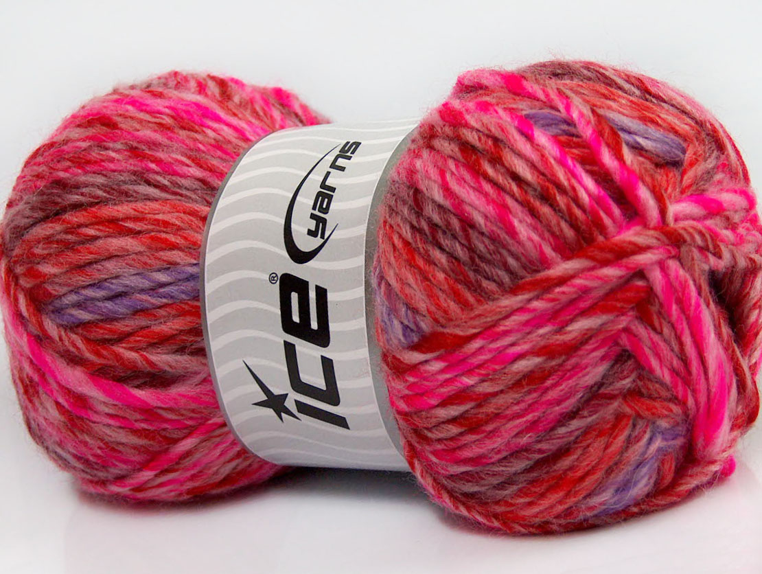 Mystique Red Pink Lilac Burgundy At Yarn Paradise