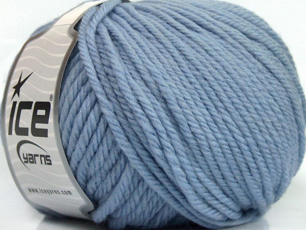 Bulky Yarn : Superwash Wool Bulky Light Lilac at Yarn Paradise