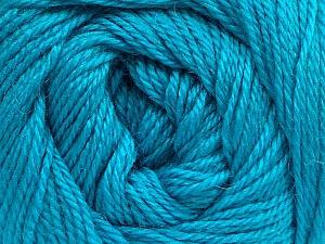 Fiber Content 45% Alpaca, 30% Polyamide, 25% Wool, Turquoise, Brand ICE, Yarn Thickness 2 Fine  Sport, Baby, fnt2-51600
