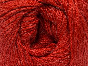 Fiber Content 45% Alpaca, 30% Polyamide, 25% Wool, Marsala Red, Brand ICE, Yarn Thickness 2 Fine  Sport, Baby, fnt2-51737