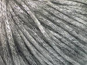 Fiber Content 70% Polyamide, 19% Merino Wool, 11% Acrylic, Silver, Brand Ice Yarns, Grey, Yarn Thickness 4 Medium  Worsted, Afghan, Aran, fnt2-52017