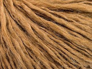 Fiber Content 60% Wool, 40% Acrylic, Light Brown, Brand ICE, Yarn Thickness 2 Fine  Sport, Baby, fnt2-53359