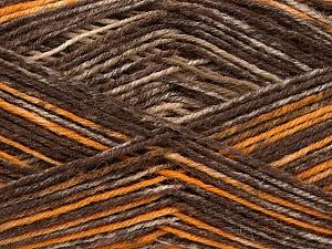Fiber Content 75% Superwash Wool, 25% Polyamide, Brand ICE, Gold, Brown Shades, fnt2-54879