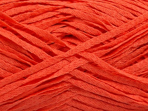 Fiber Content 100% Acrylic, Orange, Brand ICE, Yarn Thickness 3 Light  DK, Light, Worsted, fnt2-55052