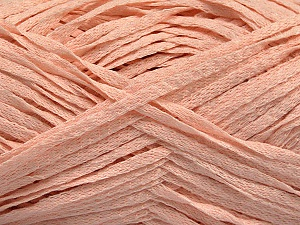 Fiber Content 100% Acrylic, Light Salmon, Brand ICE, Yarn Thickness 3 Light  DK, Light, Worsted, fnt2-55054