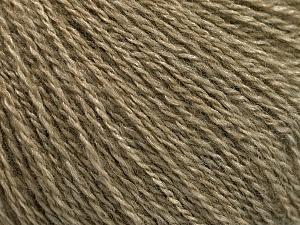 Fiber Content 65% Merino Wool, 35% Silk, Khaki, Brand ICE, Yarn Thickness 1 SuperFine  Sock, Fingering, Baby, fnt2-57856