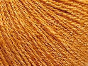Fiber Content 65% Merino Wool, 35% Silk, Brand ICE, Gold, Yarn Thickness 1 SuperFine  Sock, Fingering, Baby, fnt2-57857