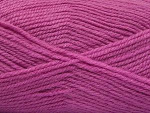 Fiber Content 50% Wool, 50% Acrylic, Lavender, Brand ICE, Yarn Thickness 4 Medium  Worsted, Afghan, Aran, fnt2-58190