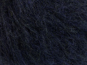 Fiber Content 45% Acrylic, 25% Wool, 20% Mohair, 10% Polyamide, Navy, Brand ICE, Yarn Thickness 4 Medium  Worsted, Afghan, Aran, fnt2-58517