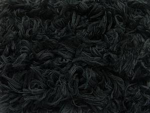 Fiber Content 100% Micro Fiber, Brand ICE, Black, Yarn Thickness 6 SuperBulky  Bulky, Roving, fnt2-59059