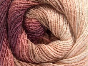 Fiber Content 70% Acrylic, 30% Merino Wool, Pink Shades, Maroon, Brand ICE, Yarn Thickness 2 Fine  Sport, Baby, fnt2-59770