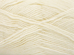 Fiber Content 50% Acrylic, 25% Wool, 25% Alpaca, Brand ICE, Ecru, Yarn Thickness 3 Light  DK, Light, Worsted, fnt2-60890